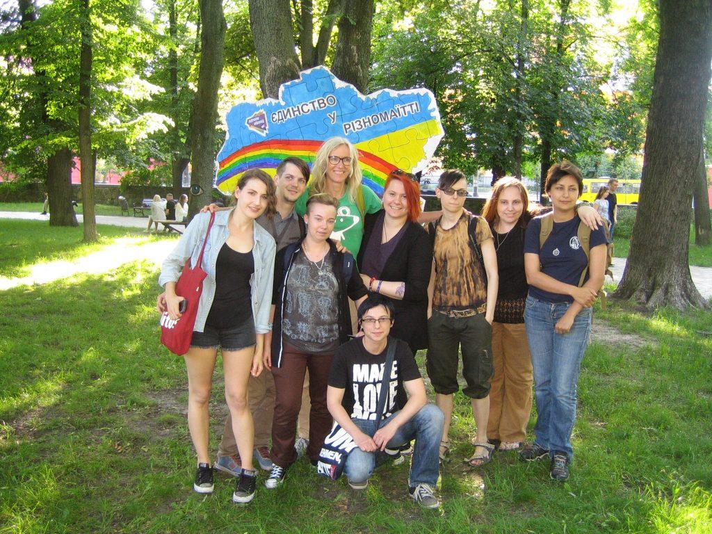 Creative Protest im Vorfeld des KyivPride 20126
