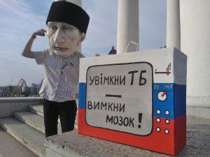 Putin-Aktion am Woronzow-Palais