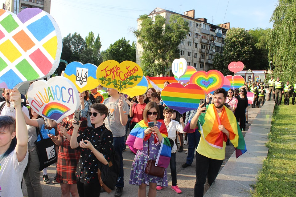 Zaporizhzhia's March of 100 Steps